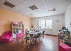 Kancelář kosmetické značky v Riegrově 51