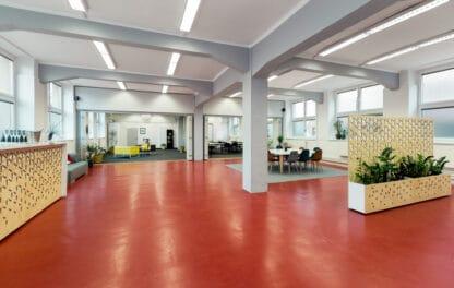 Záběr na celý prostor Galerie v Riegrově 51