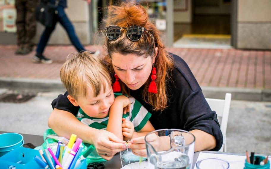 Program pro děti na akci Riegrovka