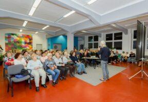 Přednáška v prostoru Galerie v Riegrově 51