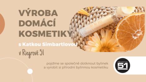 Pozvánka na workshop výroba domácí kosmetiky