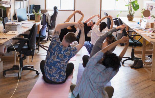 Office jóga a ranní jóga v Riegrově 51